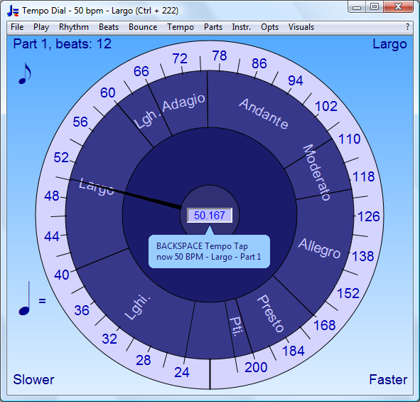 Tap at Tempo | Bounce Metronome Pro for Your PC, Laptop or